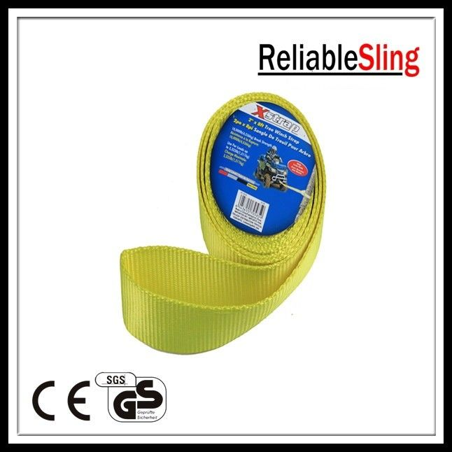 Single / Multi - plies Endless Webbing Sling / Flat Polyester Lifting Sling