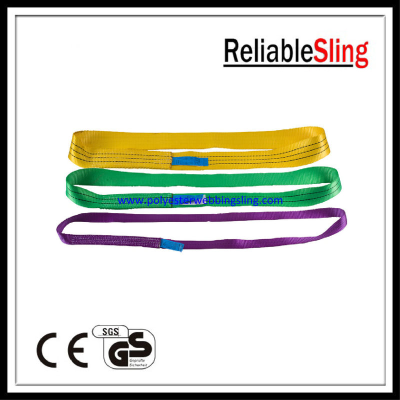 Industrial Lifting Slings 10 Ton Weight Lifting Belt  Double Ply