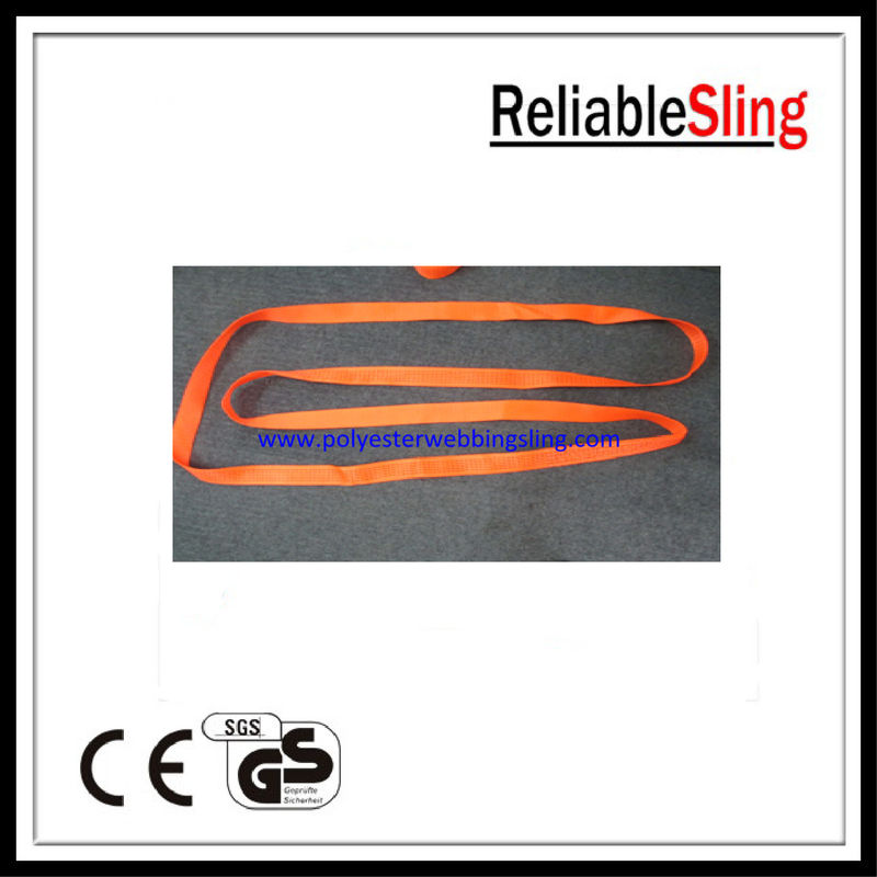1Ton - 12Ton Double Ply Endless Webbing Sling , Safety endless round sling