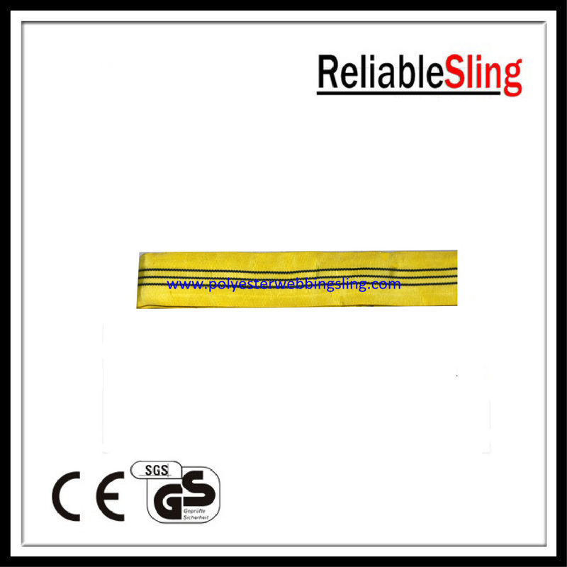 High strength polyester endless round lifting sling safety 3Ton 1-10 meters