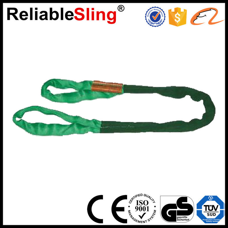 Lifting Belt Sling Polyester Round Slings 1m - 30m Length Orange