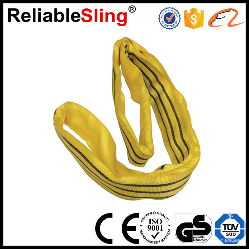 Lifting Polyester Round Slings Polyester Lifting Slings 1-10 Ton Acc