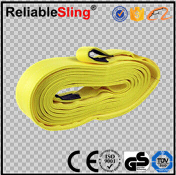 "4"" x 30' Recovery Snatch Strap 15,000 lb Off - Road Truck Towing Rope"