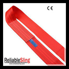 5 Ton Red High Strength Polyester Webbing Strap for Lifting 240-300mm Width