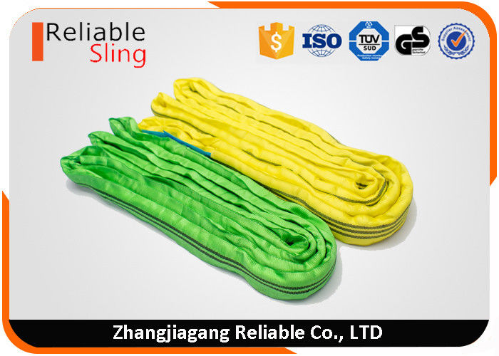 High Safety Endless Soft Round Webbing Sling Polyester Synthetic Round Sling